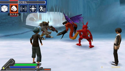 PSP Digimon World Re Digitize