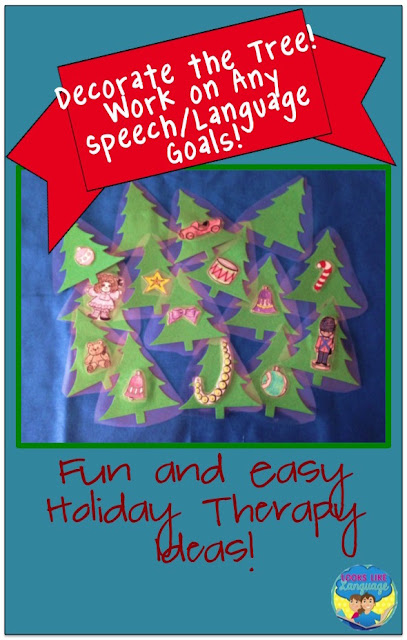 Simple ideas can be better! Holiday therapy with Looks-Like-Language