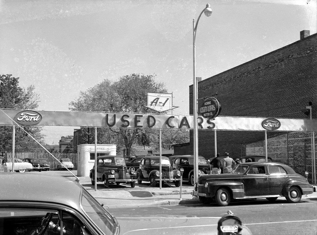 vintage dealerships boston chevy dealer assembly lines old car dealerships car haulers. Black Bedroom Furniture Sets. Home Design Ideas