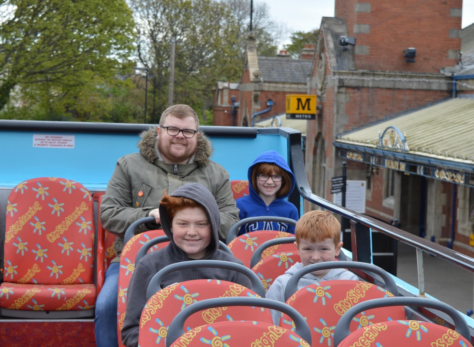 The Seasider Open Top Bus Tour Whitley Bay | Tickets, Prices, Timetables & Where To Visit - seating on top