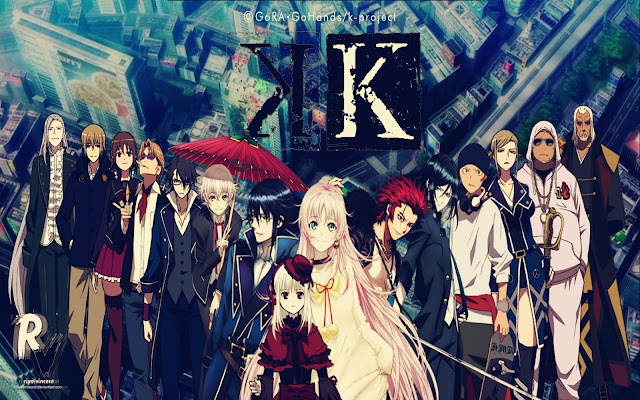 Download OST Opening Ending Anime K-Project Full Version