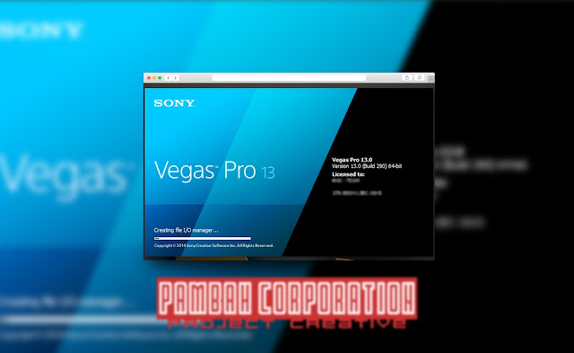 Free Download Sony Vegas Pro 13.0 Build 290 Full Version With Keygen
