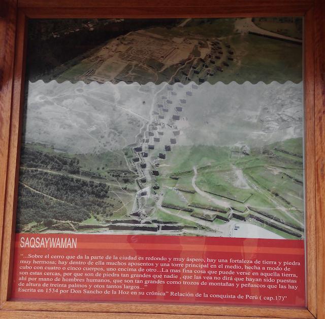Vsita aerea de Sacsayhuamán Cuzco