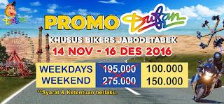 Promo Dufan Khusus Bikers Periode 14 November - 16 Desember 2016