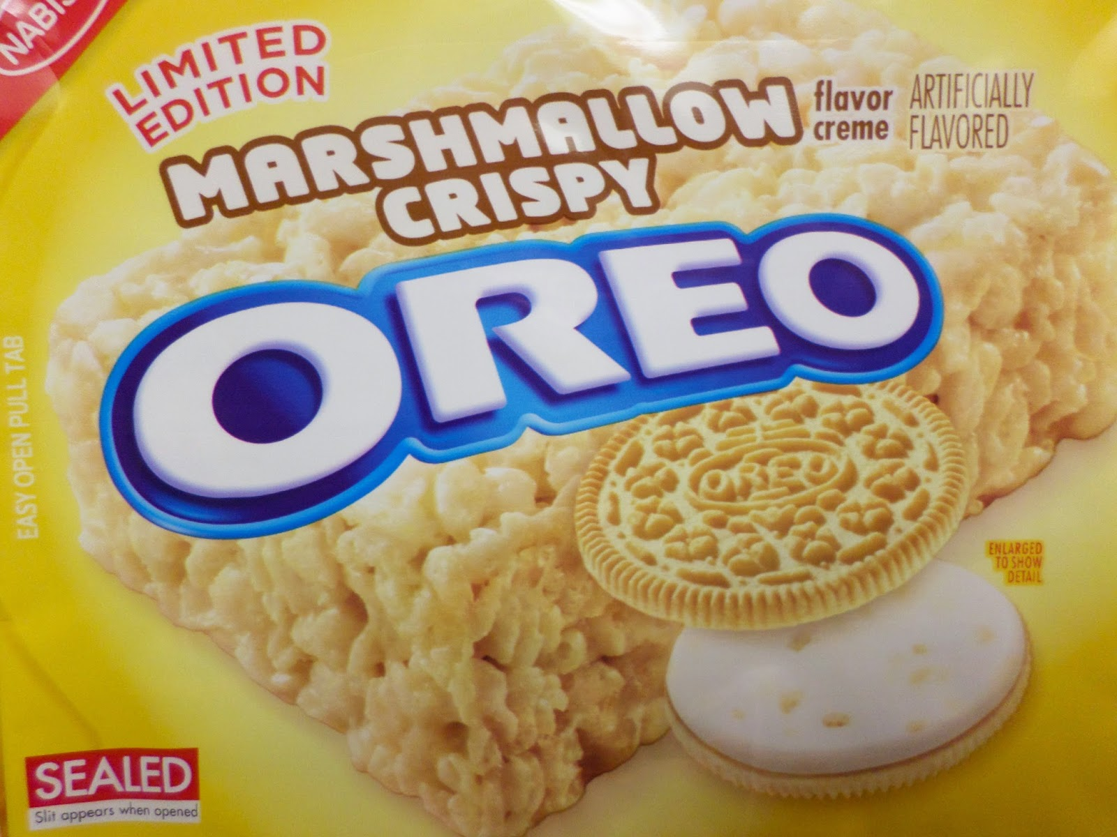 Limited Edition Marshmallow Crispy Oreo
