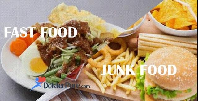 Apa itu Junk Food dan Apa Perbedaanya sama Fast Food