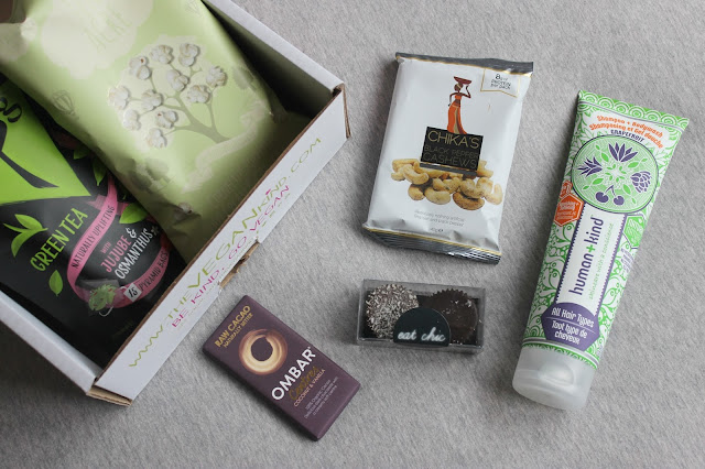 A picture of February 2016 The Vegan Kind Box