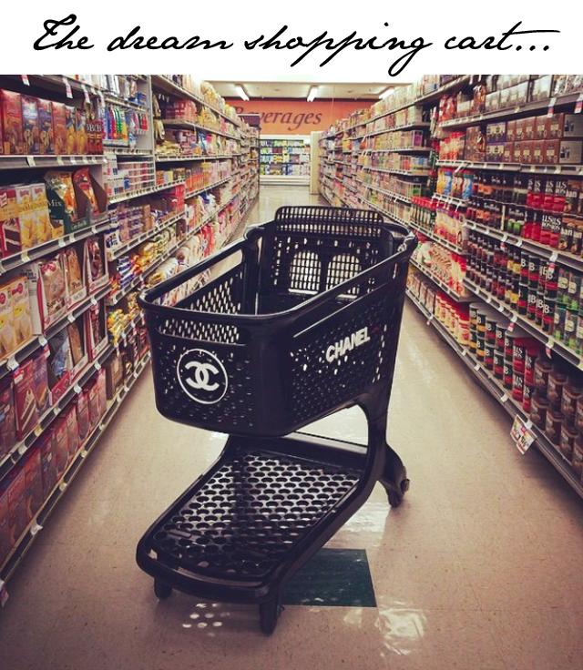 Chanel shopping cart