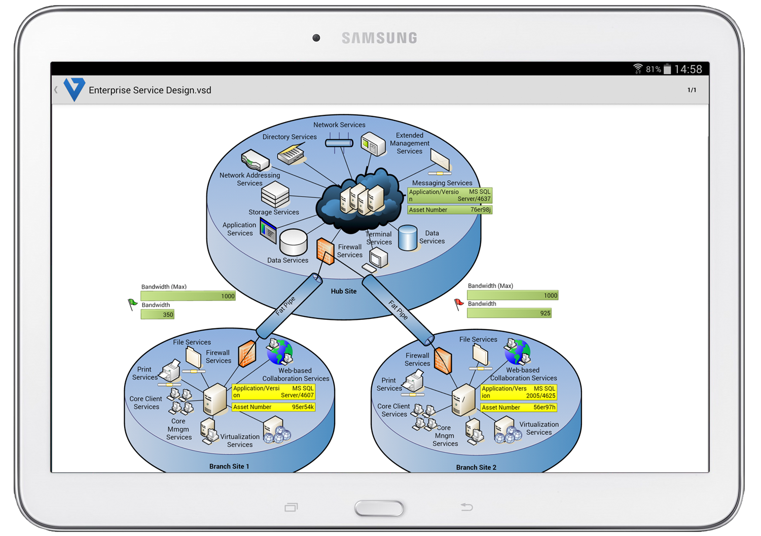Visio Viewers for Mac, iPad and Android Tablets