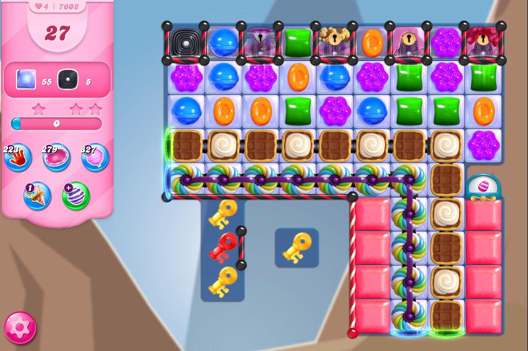 Candy Crush Saga level 7602