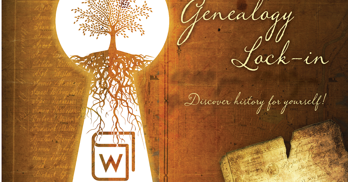 Genealogy Library or Society Lock-In … Is there one happening near you?
