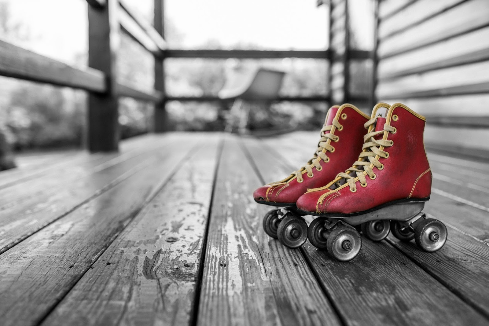 Image: Skates on board- Showing things for grown-up to do and try for this summer