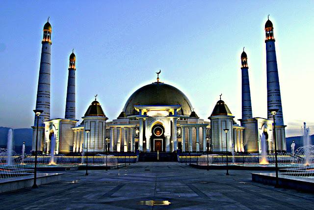 Keindahan Senibina Masjid - Masjid Ashgabat