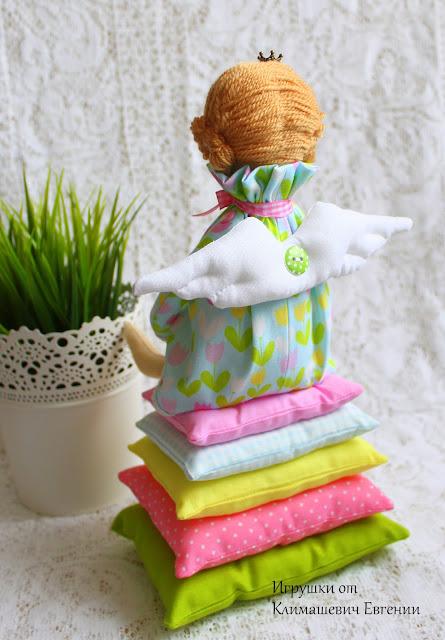 Принцесса, принцесса на горошине, принцесса тильда, тильда, кукла тильда, тильда ангел, тильда фея, ангел, феня, текстильдная кукла, интерьерная кукла, для девочки, для девушки, купить куклу, купить тильду, купить игрушку, игрушки ручной работы, куклы ручной работы