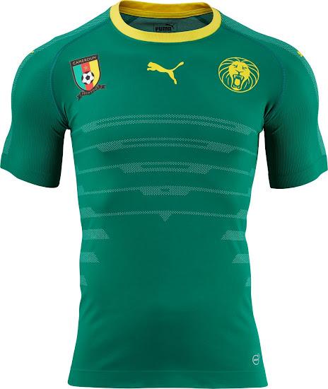 new styles 09028 5d7bb Kamerun 2016 Heimtrikot enthüllt - Nur Fussball