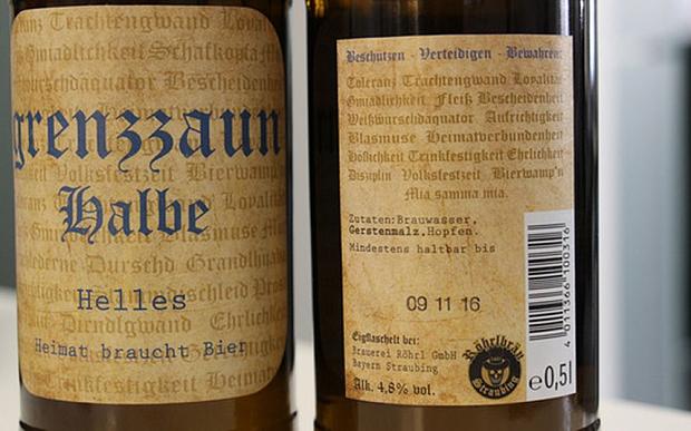 Cervejaria Bavarian acusado de vender 'cerveja Nazi'