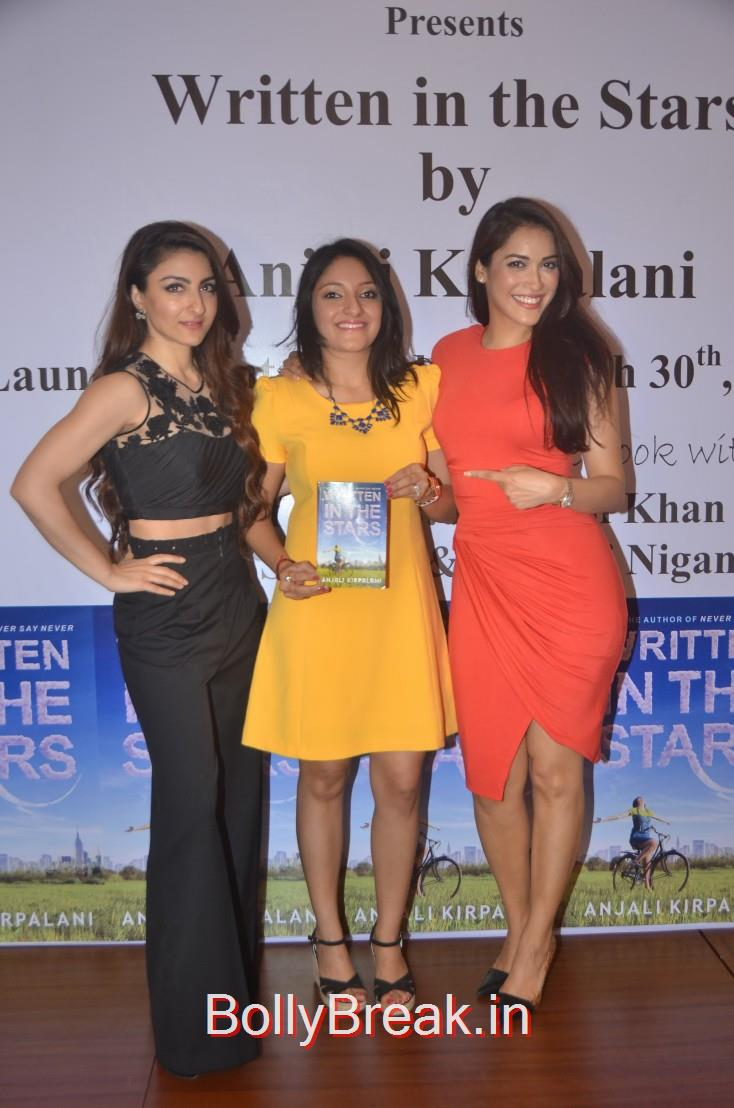 Soha Ali Khan, Anjali Kirpalani and Rashmi Nigam unveil the new book, Soha Ali Khan, Tara Sharma Saluja And Rashmi Nigam Unveil Anjali Kirpalani's Book