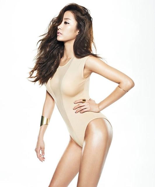 Hot girls Sexy korean ladies with waist 50cm 3