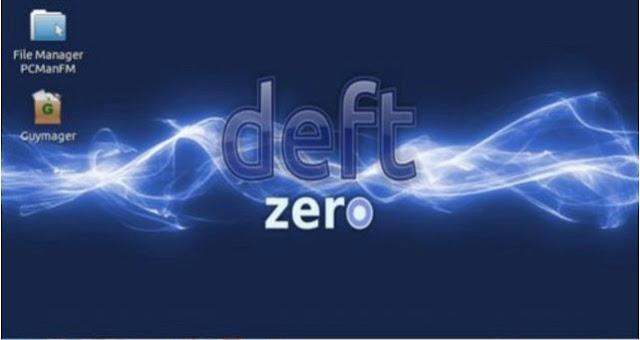 DEFT Zero Linux 2017.1 lightweight version