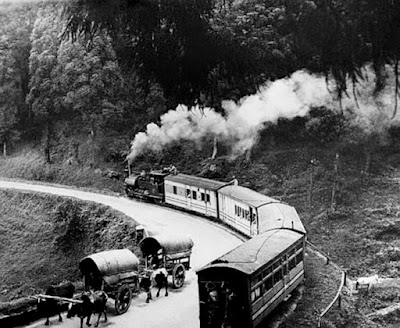 Historical Darjeeling toy train