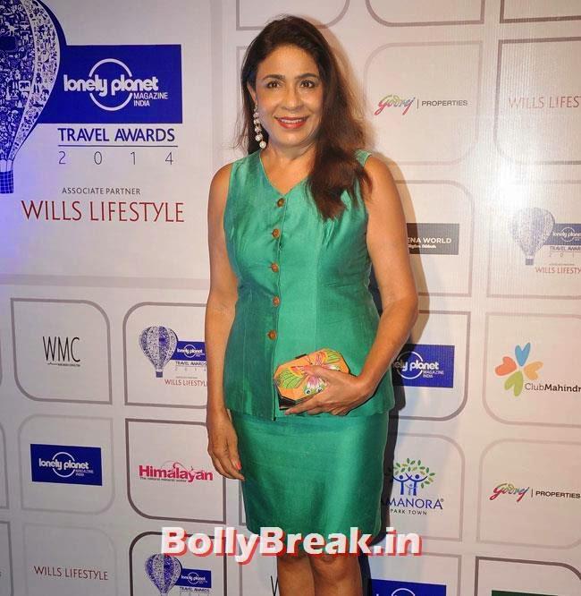 Rashmi Uday, Evelyn Sharma sizzles at Lonely Planet Magazine India Travel Awards 2014