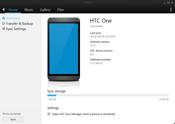 Download HTC Sync Manager For Windows And Mac