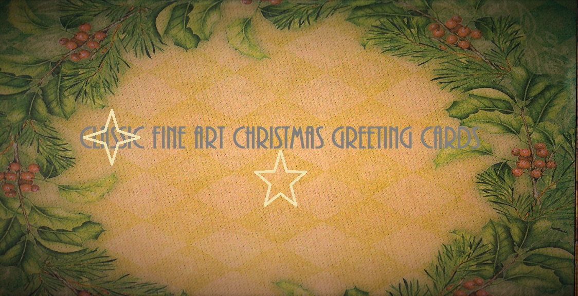 Classic Fine Art Christmas Greeting Cards / The Fir Tree / Starr Ockenga /Christians Hans Anderson