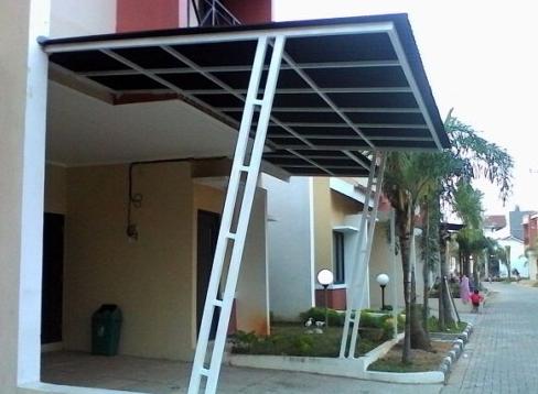 68 Model Kanopi Baja Ringan Untuk Teras Depan Rumah Minimalis