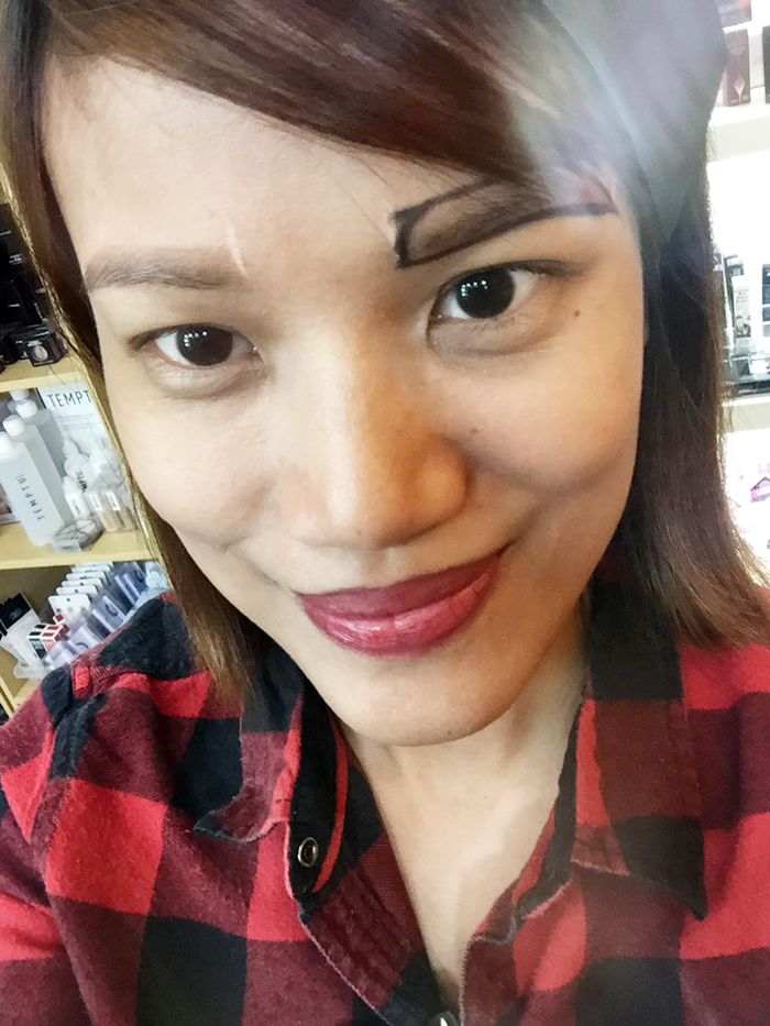 Review Eyebrow Embroidery By Mk The Brow Expert Keighty Wong