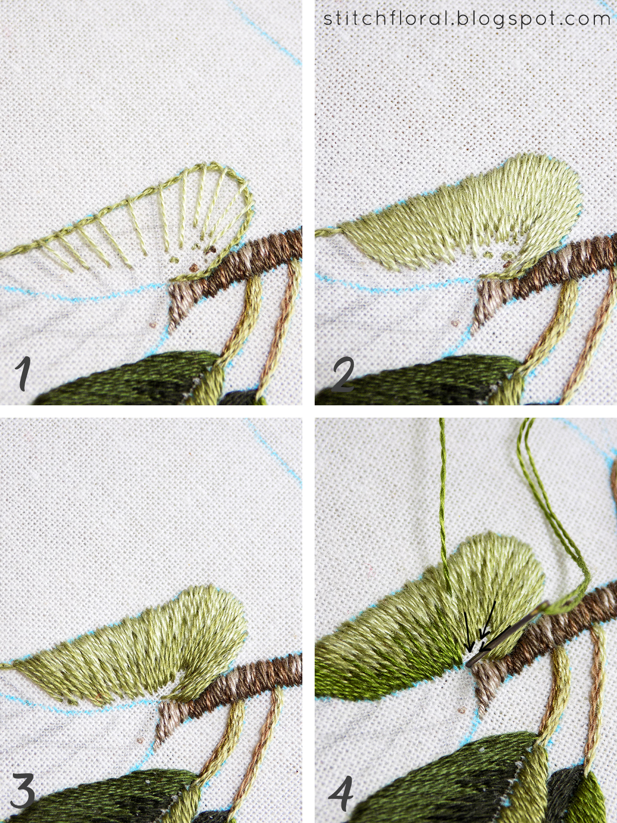 Magnolia Stitch Along Part 2