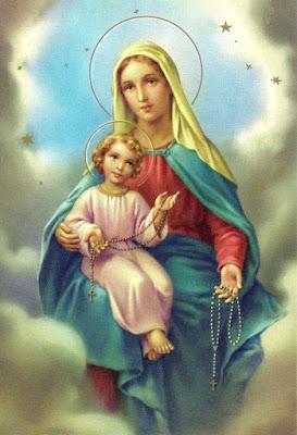 Resultado de imagen para Nuestra Señora y su Santo Rosario