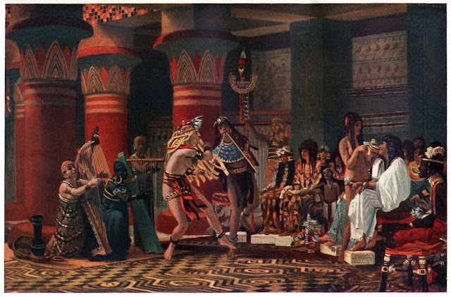 Pastime in Ancient Egypt, by Lawrence Alma-Tadema