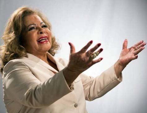 Cantora Angela Maria morre em São Paulo, aos 89 anos