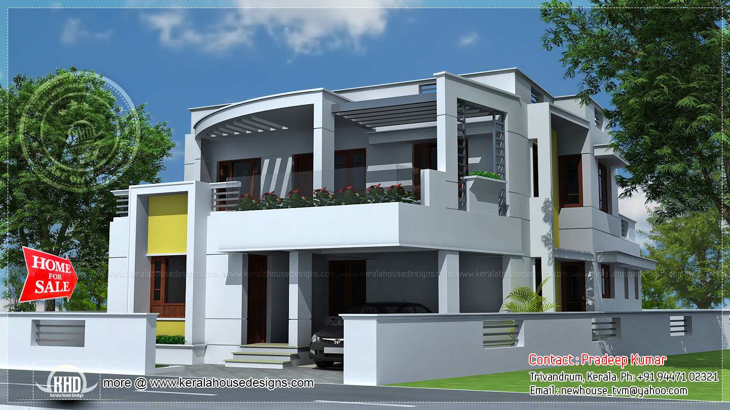 2000 sq ft house for sale at trivandrum kerala kerala for Architect house plans for sale