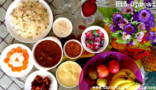 eid lunch at my home