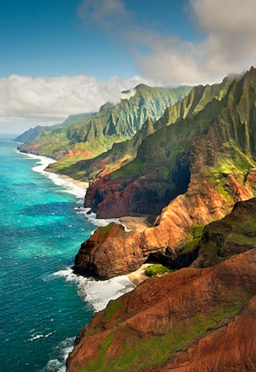 Napali Cliffs, Kauai, Hawaii