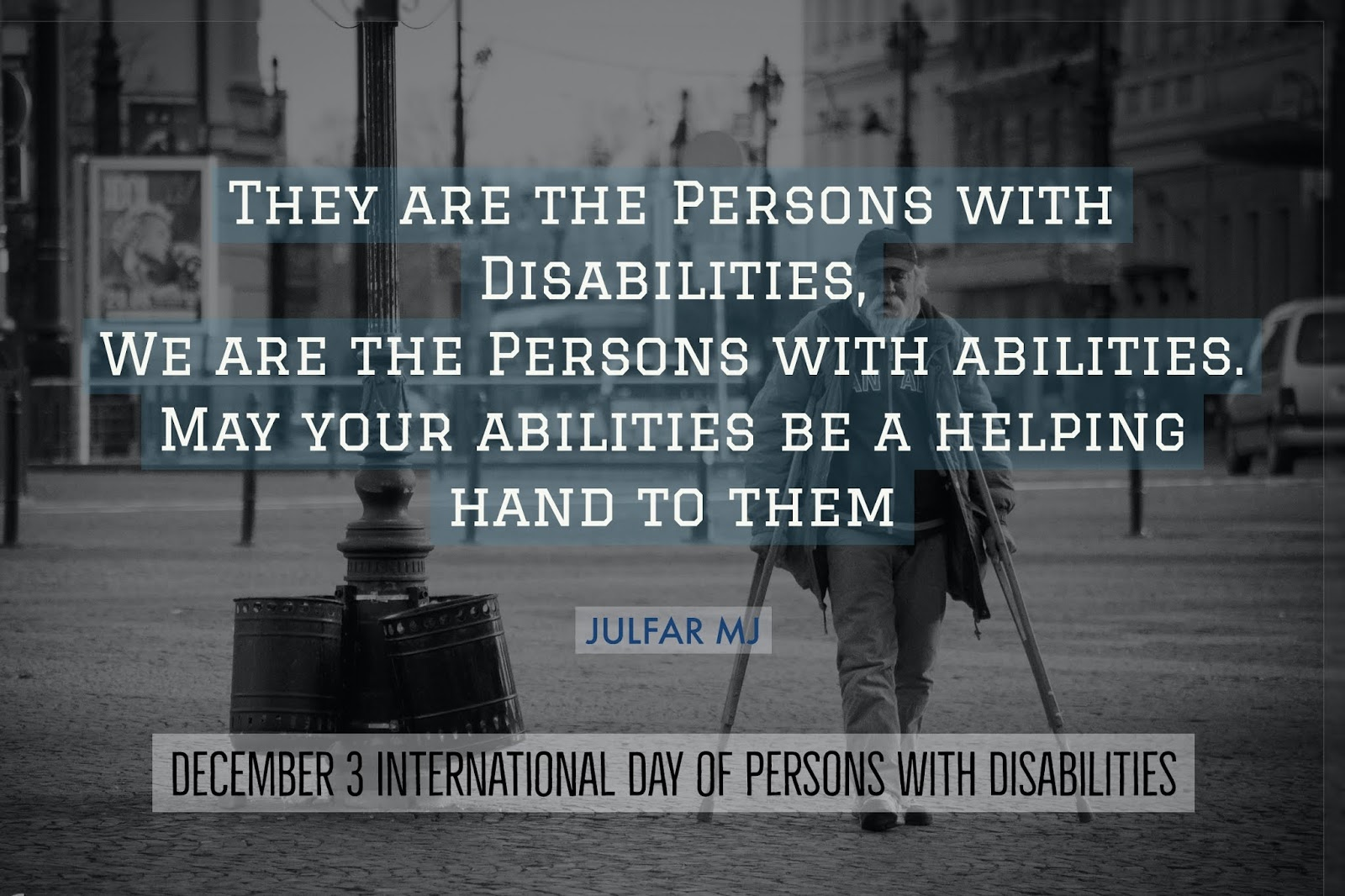 international day of persons disabilities