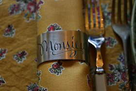 Vignette Design Making A Statement With Napkin Rings