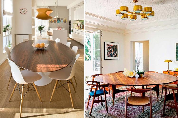 Marzua tipos de mesas para el comedor for Mesas de comedor rectangulares