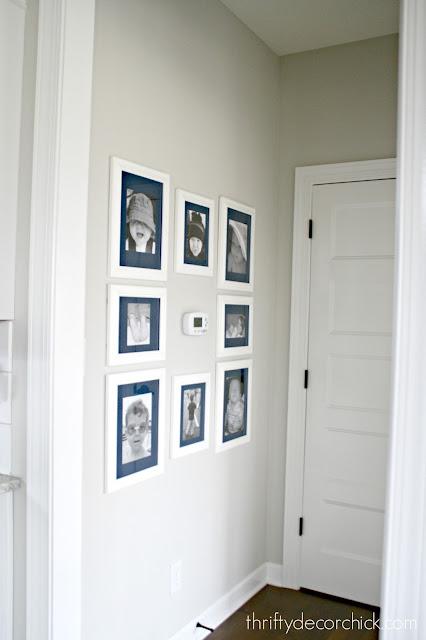hanging art around thermostat