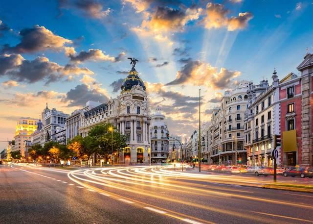 Céu de Madri