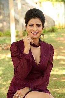 Karishma Kaul Hot Cleavage Photos at Prema Parichayam Movie Launch