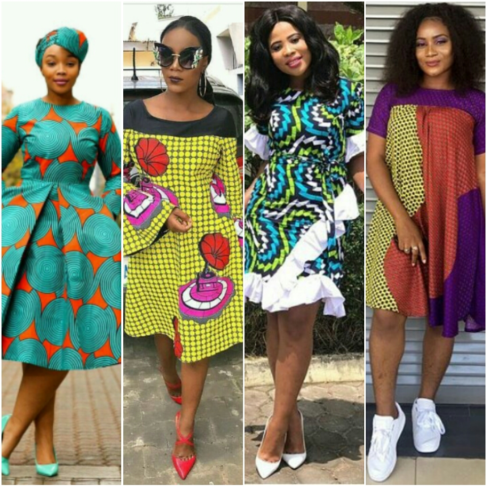 Fashion Trends: Stylish Ankara Short Dresses For Ladies