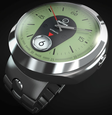 Isotope Rider Jumping-Hour watches