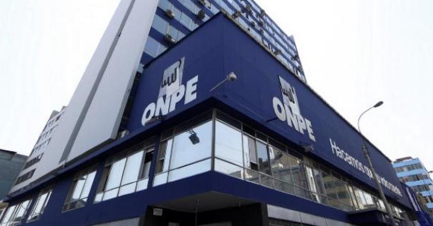 ONPE presentará diseño de cédula de sufragio para Elecciones Municipales Complementarias - www.onpe.gob.pe