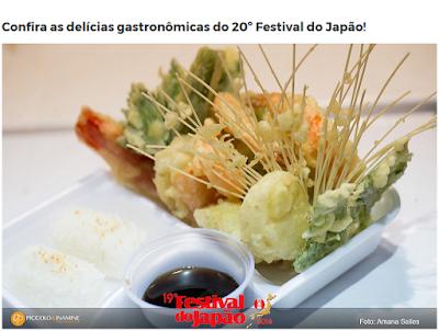 """Massa de Peixe """"kamaboko"""" produzida na Ilha Comprida faz sucesso no  20º Festival do Japão em SP"""