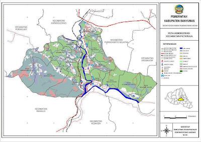 Peta Kecamatan Patikraja