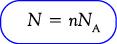Rumus Jumlah Partikel