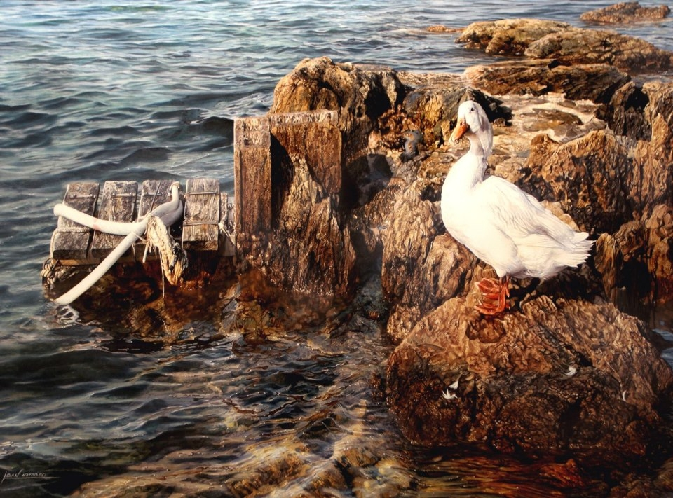 05-Iban-Navarro-Watercolour-Paintings-of-the-Seaside-that-look-like-Photographs-www-designstack-co