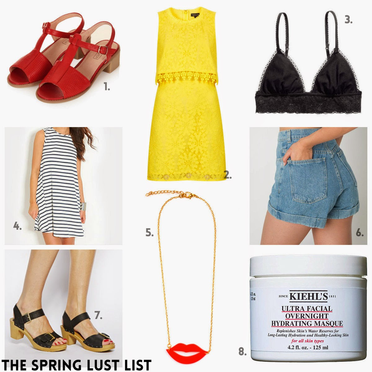 8b8e6233ad8da7 THE SPRING LUST LIST. My wardrobe is in serious need of an overhaul. To be  honest, I feel like everything needs a bit of an overhaul at the moment, ...
